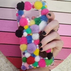 Pompom DIY Phone Case for Galaxy Note 9